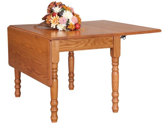 "<b>Colonial Harvest Drop Leaf Table</b>  42"" x 60"" Extension  48"" x 60"" Extension 16"" Drop Leaf <I>*Custom Sizes Available</I>"