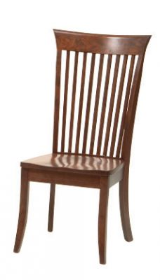 "#1620  <b>Mannington Side Chair </b> 19"" x 18"" x 42"" <I>*Available with Leather or  Fabric Seats</I>"