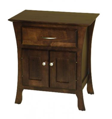 "Item #BRN2-214   <b>Brooklyn 2-Door Nightstand</b>  25""w x 16""d x 27""h"