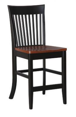 "#1620BC-24  <b>Mannington Bar Chair</b>  19""x 18""x 41""  (24"" & 30"" Available) <I>*Available with Leather or  Fabric Seats</I>"