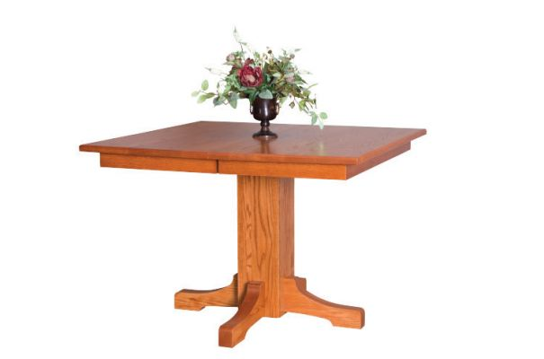 "<b>Montreal Single Pedestal Table </b> 36"" Solid or Expandable  42"" Solid or Expandable  48"" Solid or Expandable   <I>*Custom Sizes Available</I>"