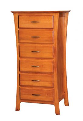 "Item # BRLC-217  <b>Brooklyn Lingerie Chest</b>  27"" w x 19""d x 53""h"