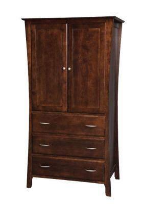 "Item #BRA-208  <b>Brooklyn Armoire </b> 40""w x 25""d x 74""h"