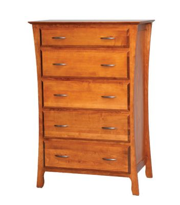"Item #BRCD-211  <b>Brooklyn Chest of Drawers</b>  36""w x 22""d x 52""h"