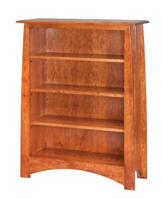 "#RDB-406  <b>6ft Ridgedale Bookcase without Doors </b> 37"" x 15"" x 74"""